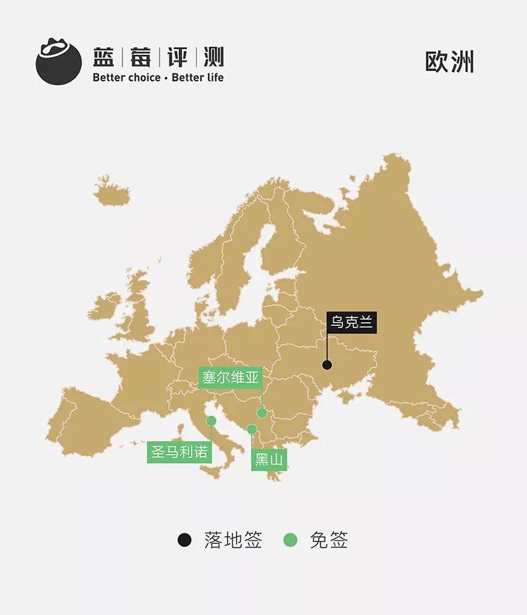 2018最新 | 说走就走的70国,免签/落地签最全盘点!(修订版)-蓝莓评测
